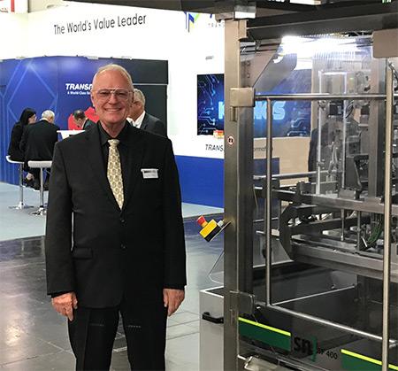 Charles Murray with machine