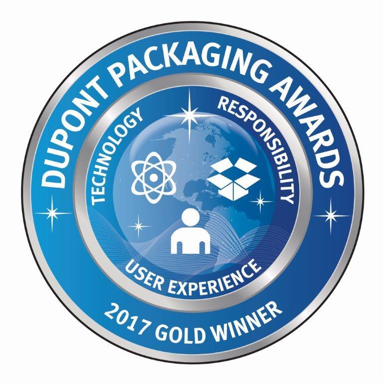 Dupont Packaging Awards - Gold Winner