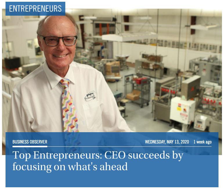 Top Entrepreneurs: CEO Charles Murray succeeds by focusing on what's ahead